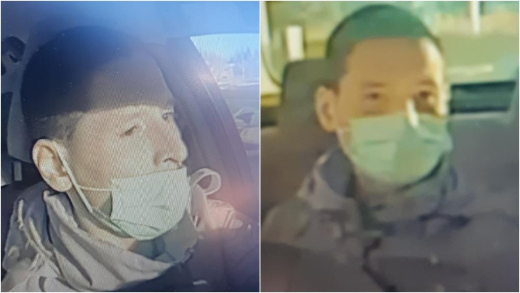 Policía de Calgary busca a hombre acusado de robar taxi al conductor