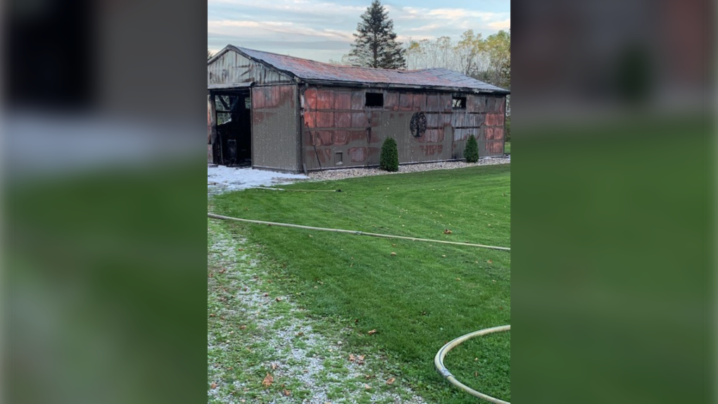 El incendio del cobertizo de Wallaceburg causa daños estimados en $ 200,000