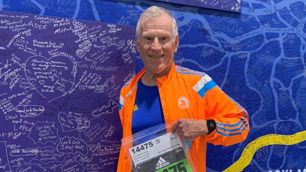 Maratón de Boston: canadiense coronado campeón de 80 años o más