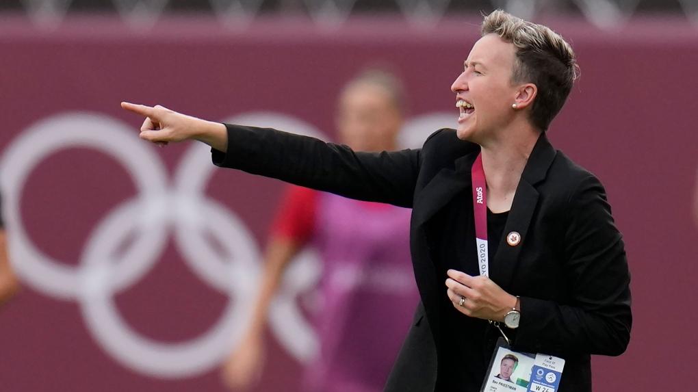Entrenador de fútbol femenino de Canadá busca formar parte de un contendiente perenne