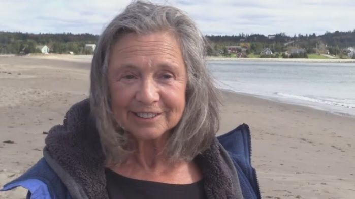 Senior swimmer shows that every day can be a beach day in Nova Scotia