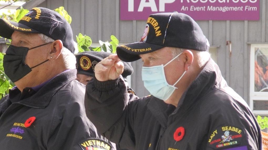 'Hoy es nuestro recuerdo', los veteranos de las Seis Naciones celebran la ceremonia anual del Día del Recuerdo