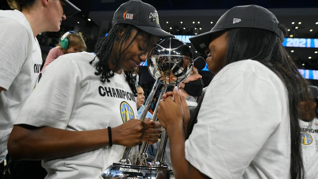 Chicago Sky gana el primer campeonato de la WNBA