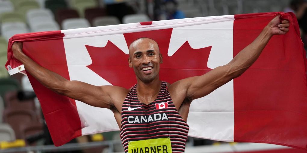 Damian Warner se apoya en la experiencia con la inseguridad alimentaria para inspirar a otros a ayudar a los Bancos de Alimentos de Canadá