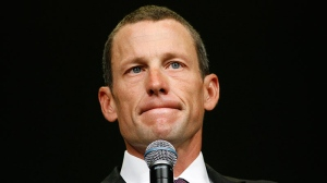Lance Armstrong steps down from from Livestrong
