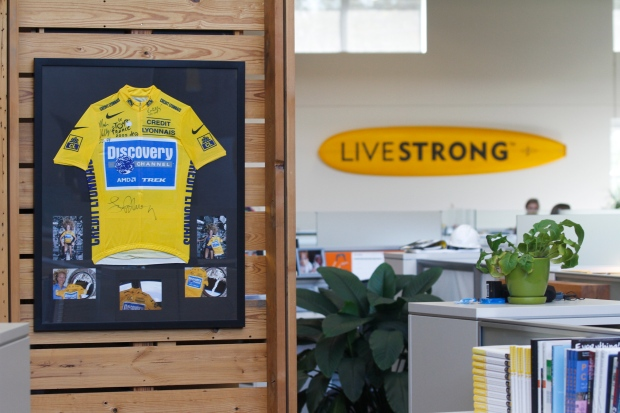 Livestrong brand