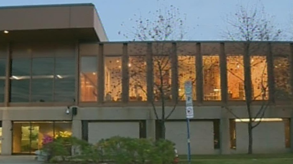 Members of Laval's Executive Committee held a closed-door meeting Wednesday, Oct. 18, 2012.