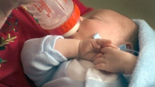 Infant bottle milk Simply Thick
