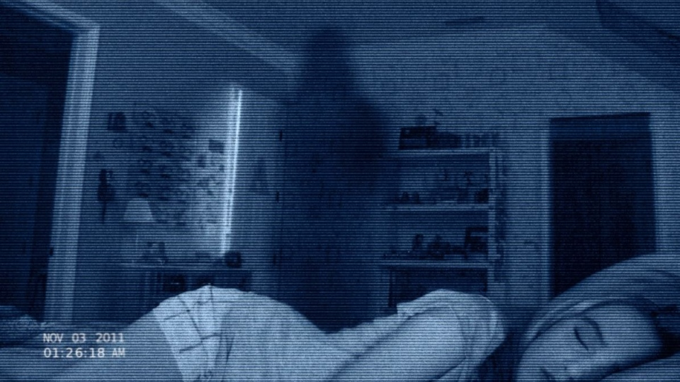 Kathryn Newton in a scene from Paramount Pictures' 'Paranormal Activity 4.'