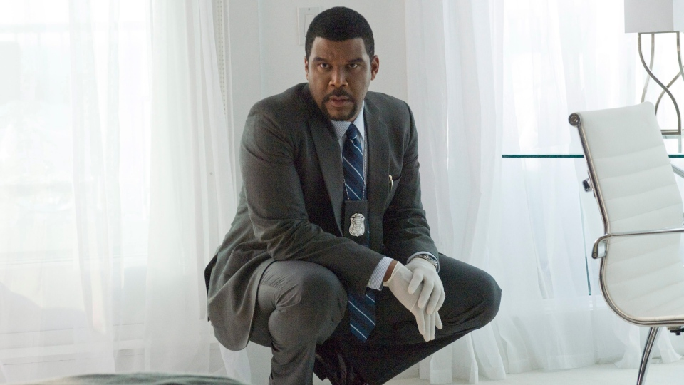 Tyler Perry in the title role during a scene from eOne's 'Alex Cross.'