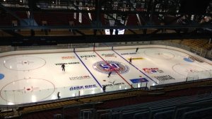 The renovations to the Kitchener Memorial Auditorium are seen on Thursday, Oct. 18, 2012. (David Imrie / CTV Kitchener)