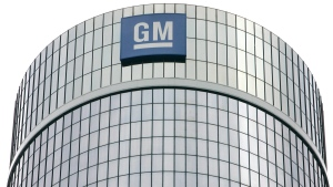 General Motors Corp. headquarters are shown in Detroit, July 25, 2006. (AP / Paul Sancya)