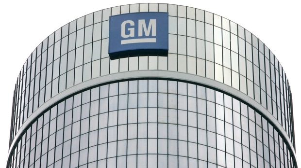 General Motors Corp. headquarters are shown in Detroit, July 25, 2006. (Paul Sancya/AP)