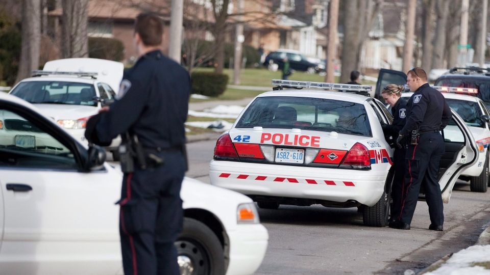 Police in London, Ont., say they have arrested eight girls in connection with a bullying case. (Geoff Robins / CANADIAN PRESS)