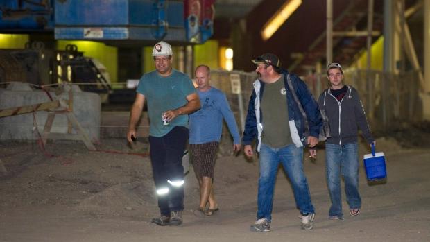 Rocanville potash mine fire rescue