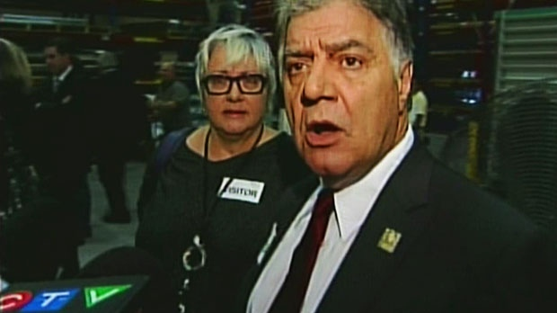 London Mayor Joe Fontana responds to allegations on Friday, Oct. 19, 2012.