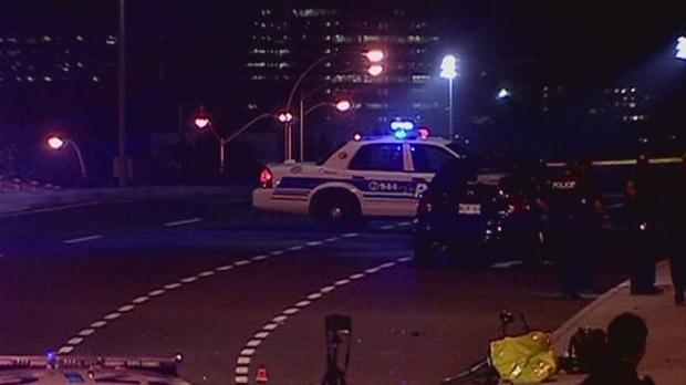 A cyclist was killed in a crash on Bronson Avenue Thursday, Oct. 18, 2012.