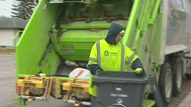 new trash collection schedule begins ctv kitchener news