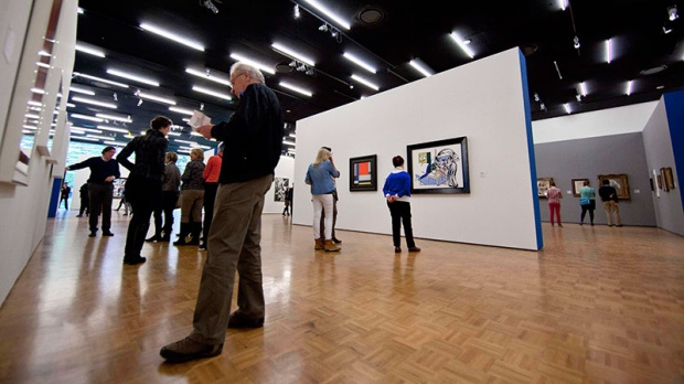Police to release footage in art heist