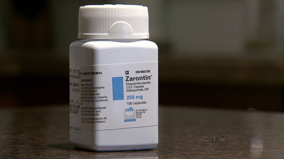 Many patients are travelling to the U.S. to get the epilepsy drug Zarontin after it began disappearing from Canadian pharmacies