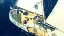 Swedish-owned, Finnish-flagged boat, Estelle
