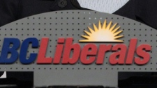 BC Liberals sign