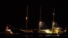Vessel Estelle sails to the port of Israel