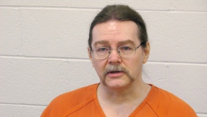 Ronald Smith at Montana State Prison in Deer Lodge on Feb. 22, 2012. (Bill Graveland / THE CANADIAN PRESS)