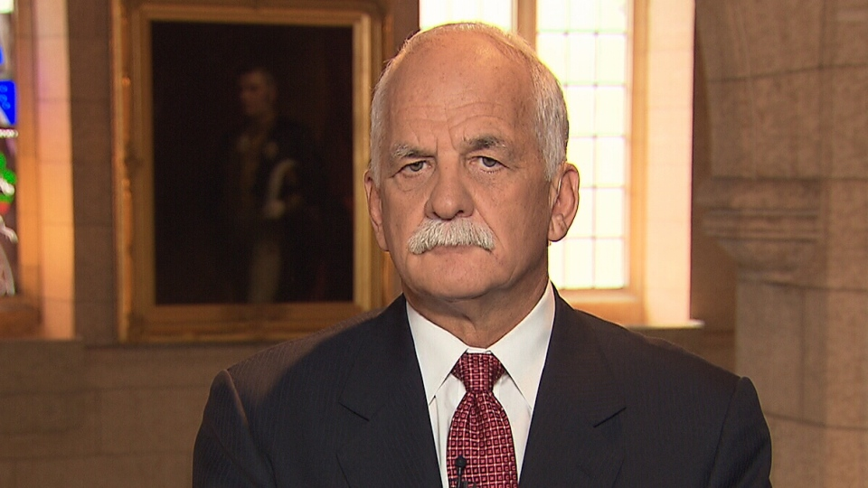Public Safety Minister Vic Toews on CTV's Question Period Sunday Oct. 21, 2012.