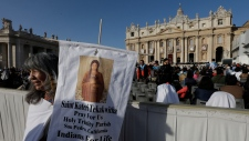 Kateri Tekakwitha canonized at the Vatican