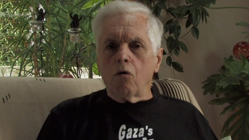 Former MP Jim Manly was heading to Gaza when the ship was intercepted by the Israeli Navy. Oct. 21, 2012. (CTV)