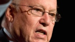File photo of former Quebec premier Bernard Landry, March 11, 2009 in Quebec City. (THE CANADIAN PRESS/Jacques Boissinot)