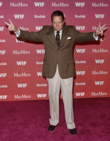 Rich Little arrives at the Women in Film Crystal Lucy Awards on Friday June 12, 2009, in Los Angeles. (AP Photo / Matt Sayles)