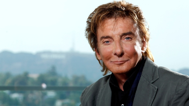 Barry Manilow in L.A. June, 2011.