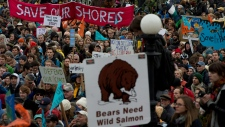 Northern Gateway pipeline protests Oct. 22, 2012