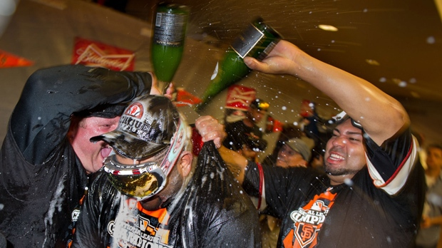 San Francisco Giants NLCS win World Series
