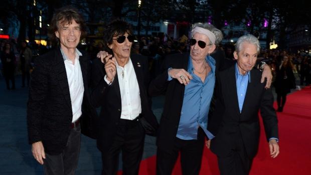 The Rolling Stones Crossfire Hurrican film premier