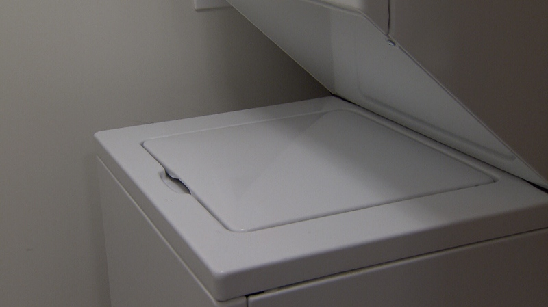 Ontario Provincial Police allege officers found a suspect accused of breaking into a home hiding inside a washing machine in Orillia on June 16, 2021 (FILE IMAGE)