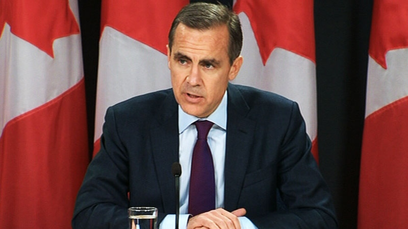 Bank of Canada Governor Mark Carney holds press conference in Ottawa on Wednesday, Oct. 24, 2012.