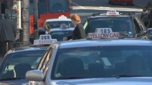 Halifax taxis are seen in this undated file photo.