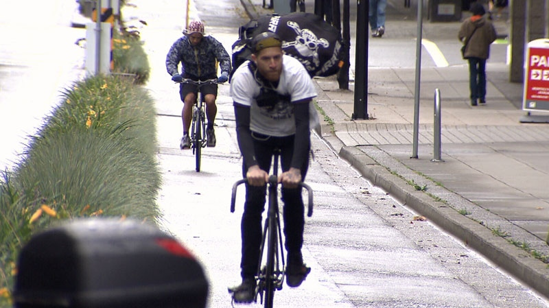 Seven-in-10 Vancouverites support separated bike lanes, poll finds