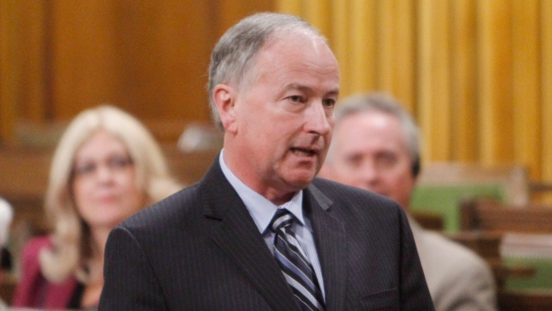 Minister of Justice Rob Nicholson