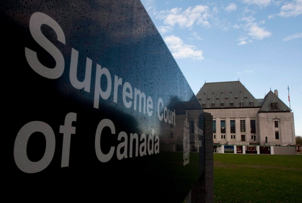 The Supreme Court of Canada in Ottawa, Thursday, Oct. 7, 2010. (Adrian Wyld / THE CANADIAN PRESS)