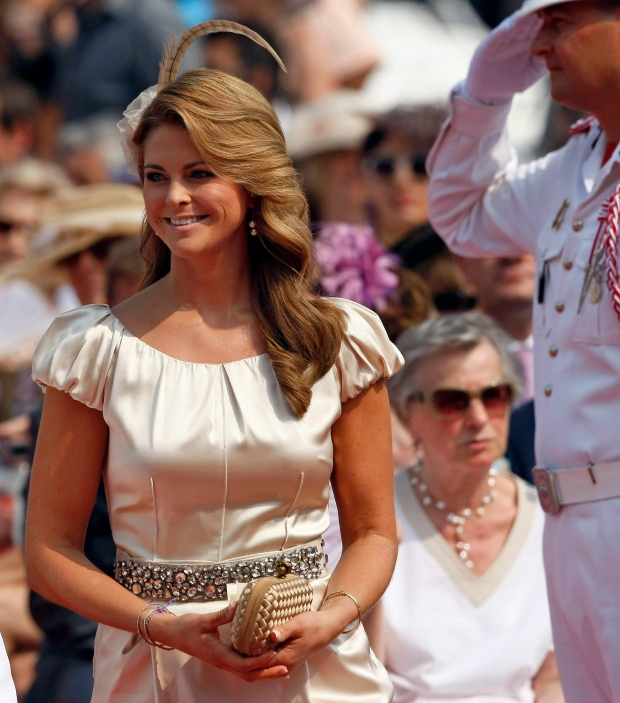 Sweden's Princess Madeleine