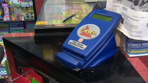 Lottery ticket scanners such as this one are thought to be a big step forward in the fight against retailer fraud.