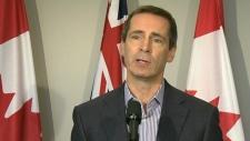 Ontario Premier Dalton McGuinty speaks at a press