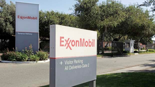 ExxonMobil sign logo California facility