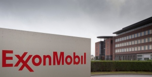 The headquarters of ExxonMobil is seen in Brussels on Friday, Oct. 26, 2012. (AP / Virginia Mayo)