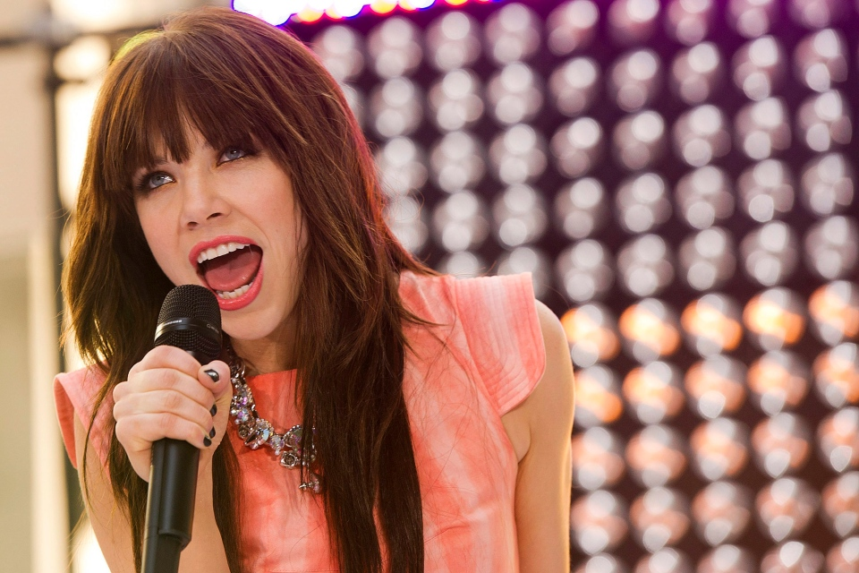 Carly Rae Jepsen performs on NBC's 'Today' show in New York on Thursday, Aug. 23, 2012. (Charles Sykes / Invision)