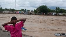 Hurricane Sandy heavy rain Haiti Cuba Jamaica
